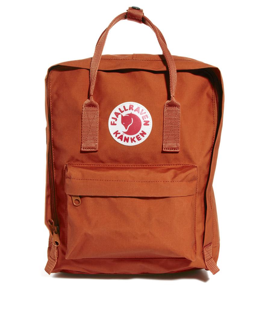 Air Bag Jack >> Fjallraven Kanken Backpack in Brown for Men | Lyst