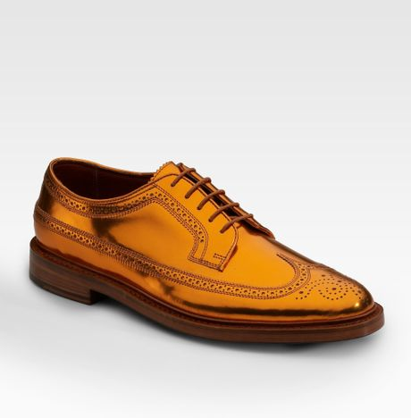 Duckie Brown Copper Shoes For Sale