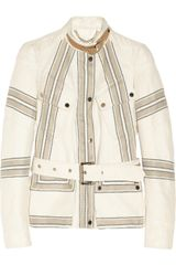 Belstaff Speedmaster Linen and Cottonblend Twill Jacket - Lyst