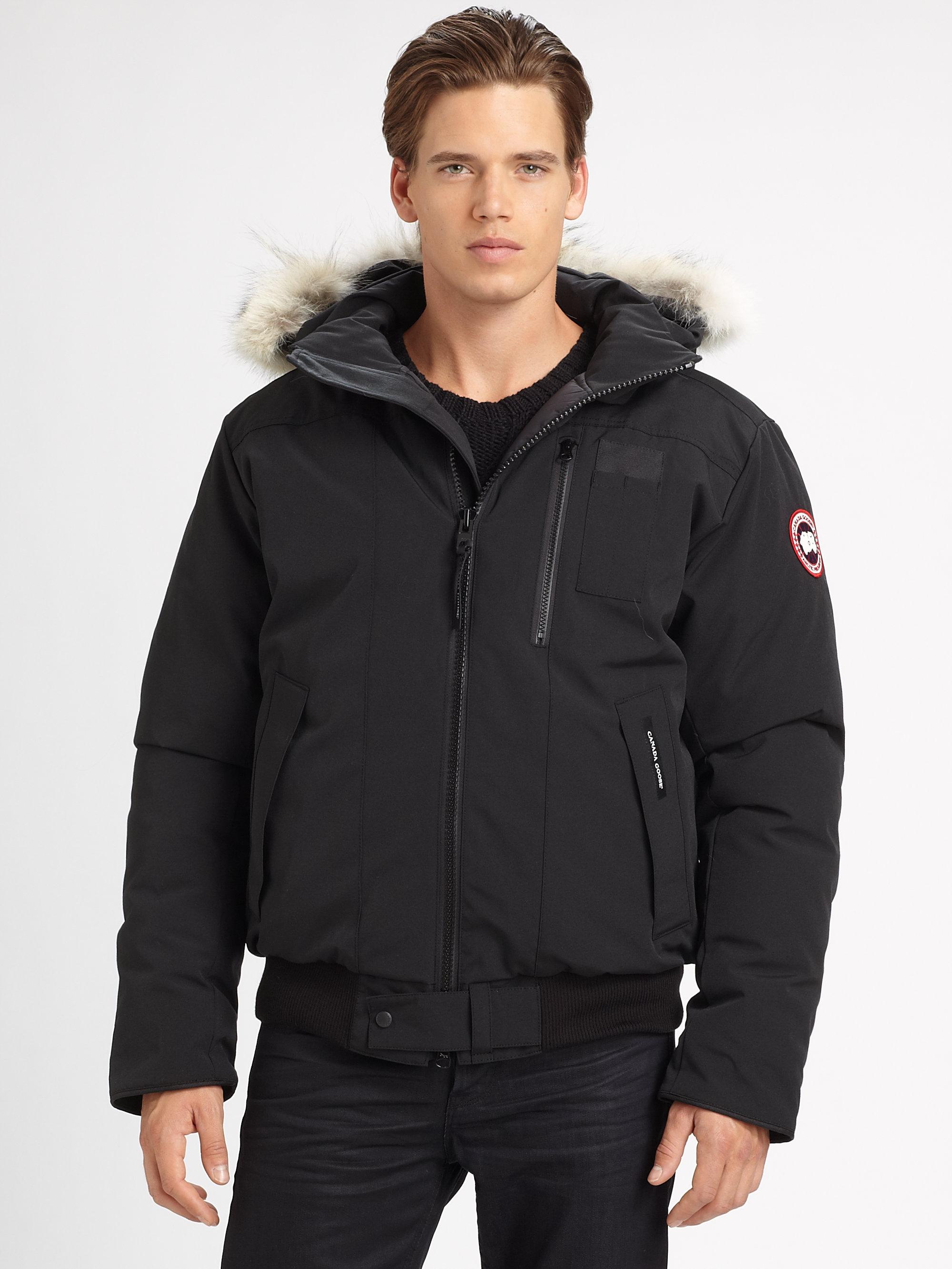 Canada Goose Borden Bomber Jacket In Black For Men Lyst