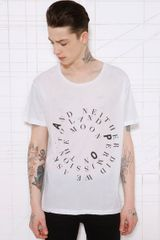 Cheap Monday White Mission Tee - Lyst