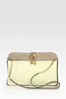 Chloé Lucy Colorblock Medium Zip Bag - Lyst
