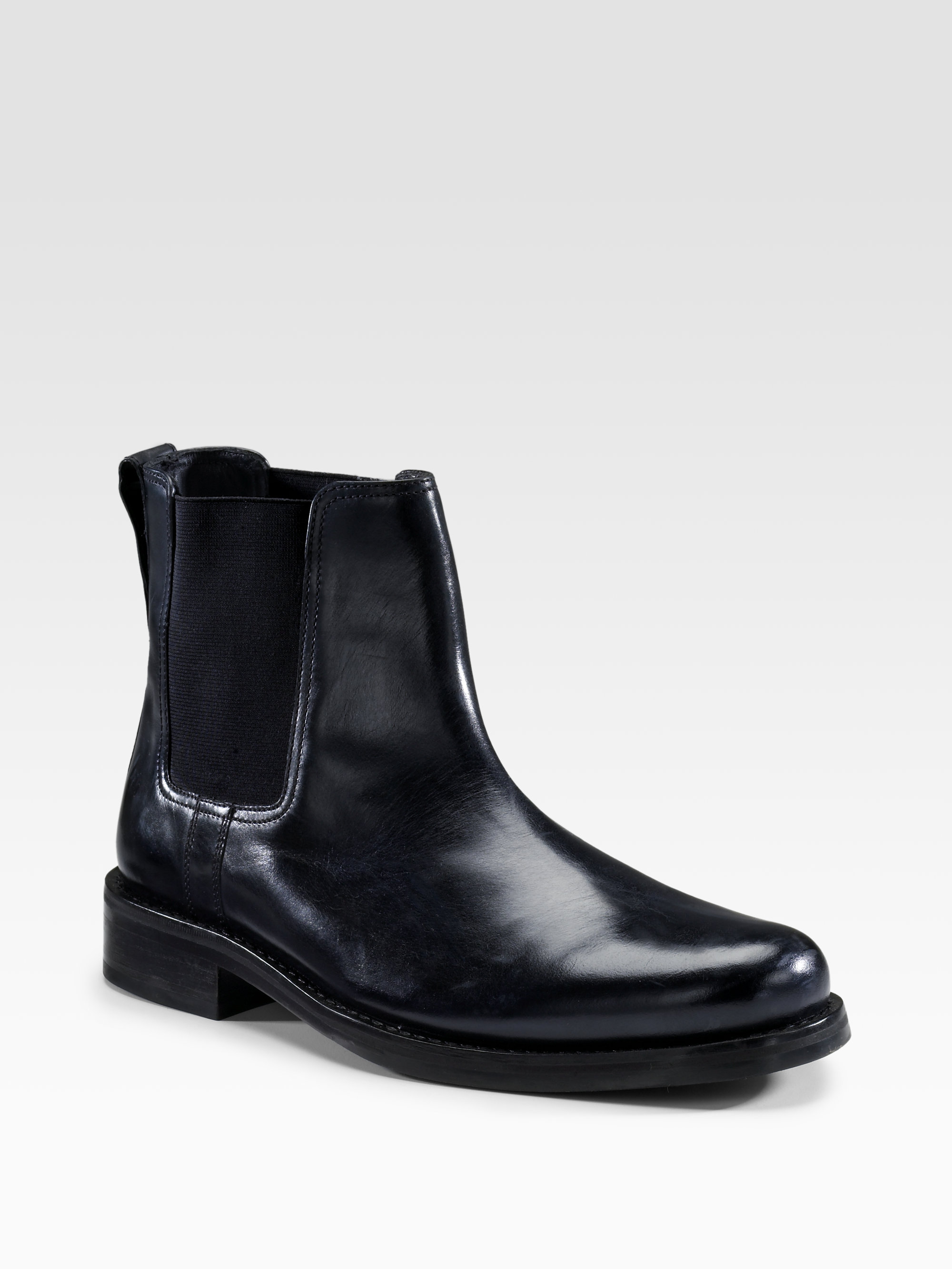 cole haan air donovan chelsea boots in black for lyst