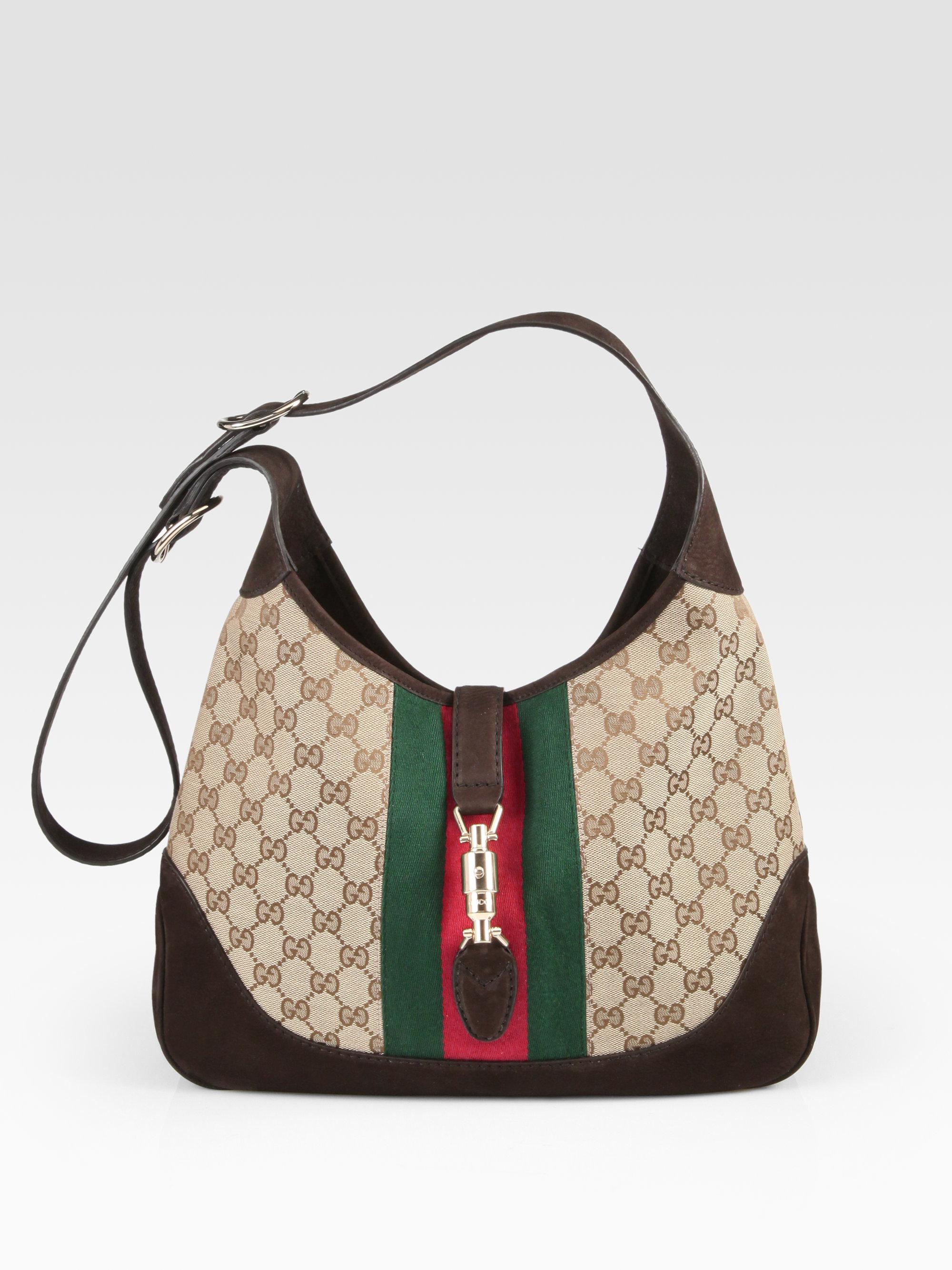 e12b3d00212 Gucci Jackie Medium Shoulder Bag - Lyst