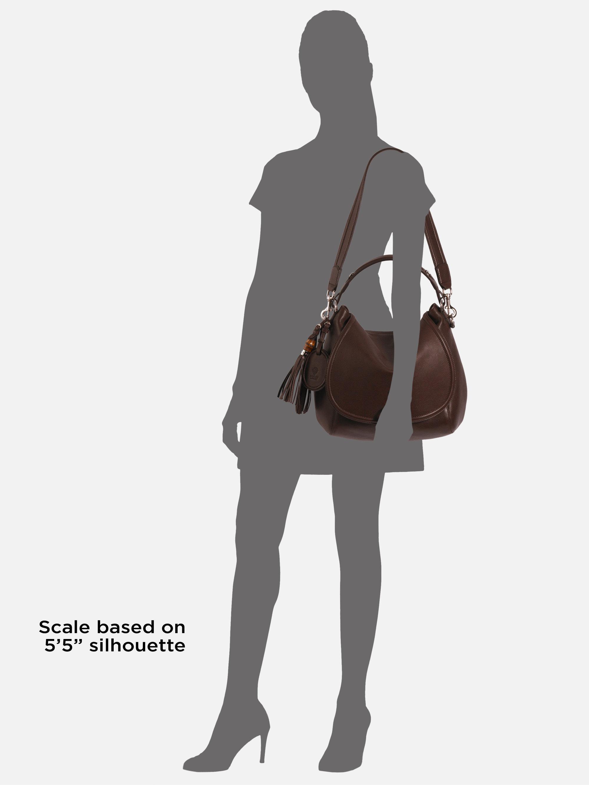 70f667fbc8e72a Gucci Techno Horsebit Large Shoulder Flap Bag in Brown - Lyst