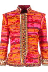 Matthew Williamson Embroidered Jacket - Lyst