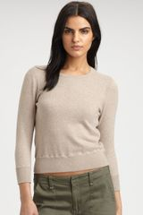 Rag & Bone Casey Cotton Sweater - Lyst