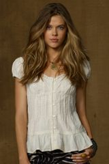 Denim & Supply Lace trimmed Eyelet Top - Lyst
