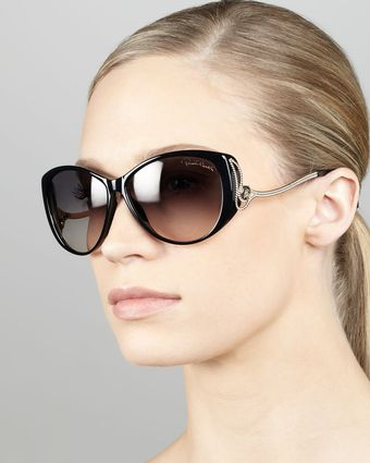 Roberto Cavalli Droptemple Cateye Sunglasses - Lyst