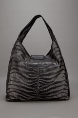 Roberto Cavalli Tiger Striped Bag in Black (tiger) - Lyst