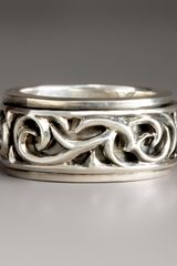 Stephen Webster Thorn Spinning Ring - Lyst