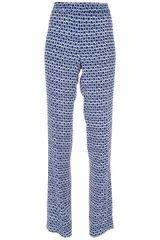 Tory Burch Printed Trouser - Lyst