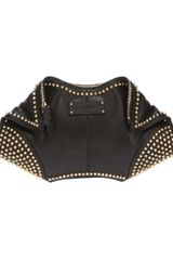 Alexander McQueen Demanta Studded Clutch