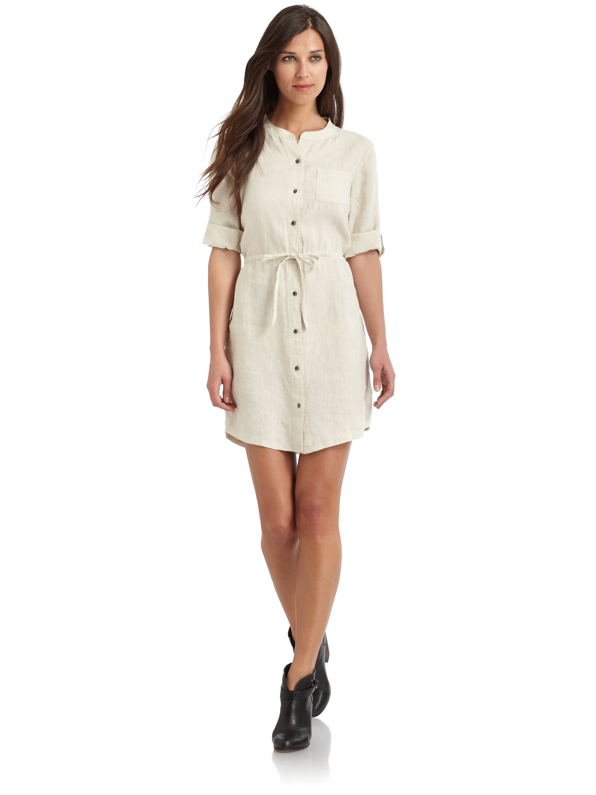 3ac0429e5f7 Gallery. Previously sold at  Saks Fifth Avenue · Women s Blue Dresses  Women s White Linen ...