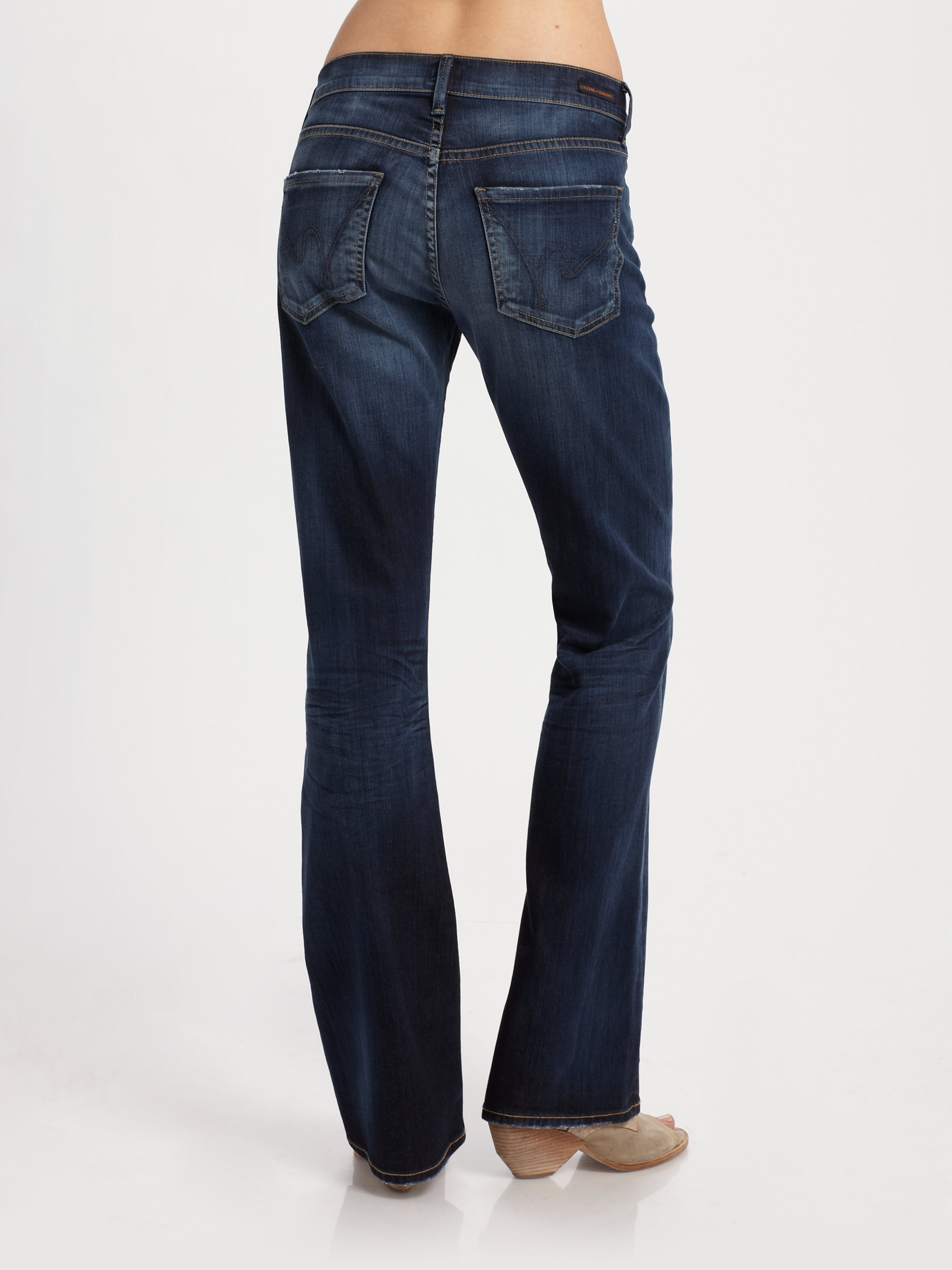 Citizens of humanity Dita Petite Bootcut Jeans in Blue | Lyst