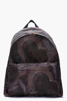Givenchy Deep Purple Multi Madonna Print Backpack - Lyst