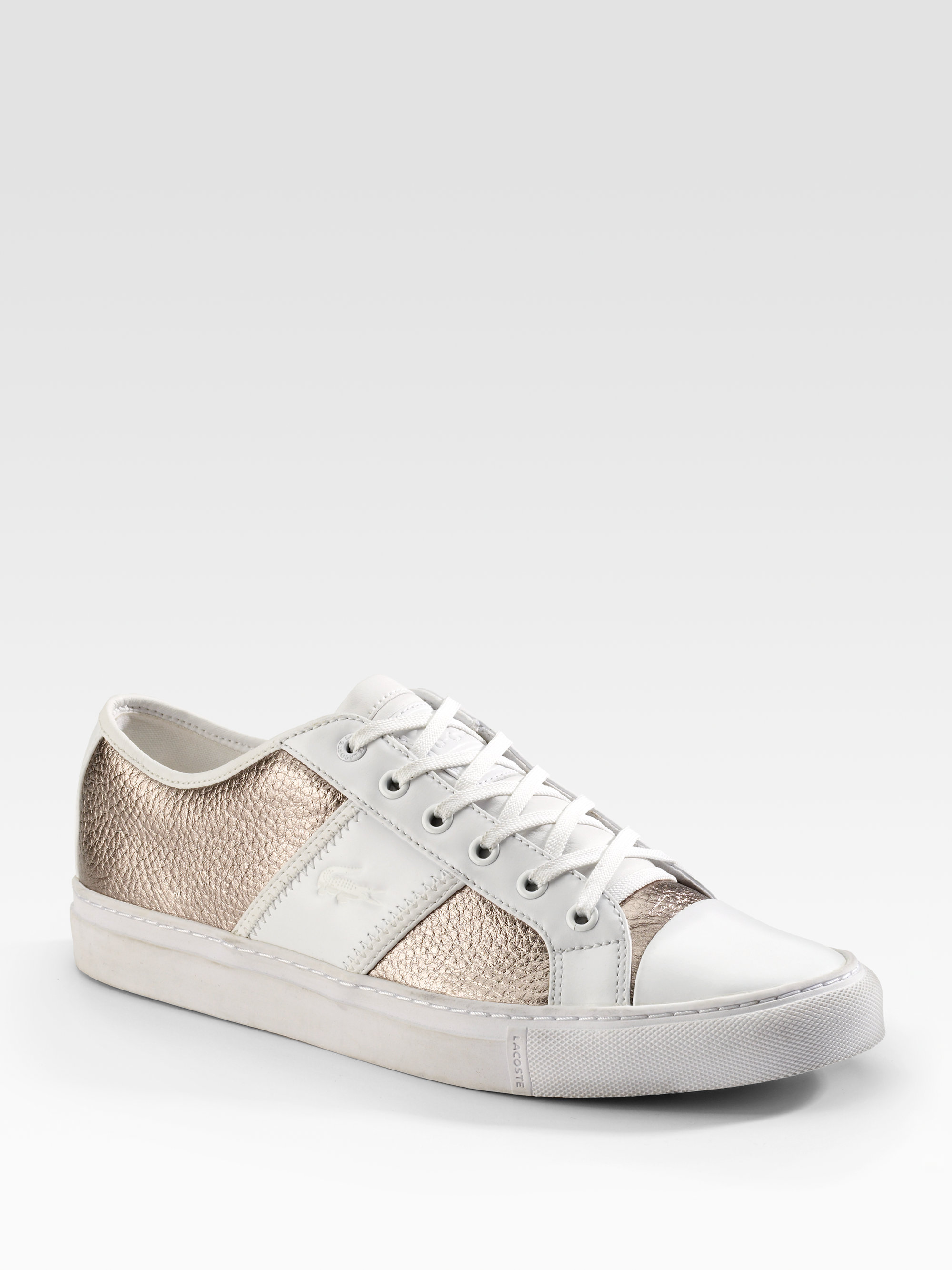 07e341877 Lyst - Lacoste Cerberus Sneakers in Metallic for Men