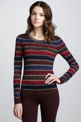 Marc By Marc Jacobs Pyo Shimmerstripe Sweate - Lyst
