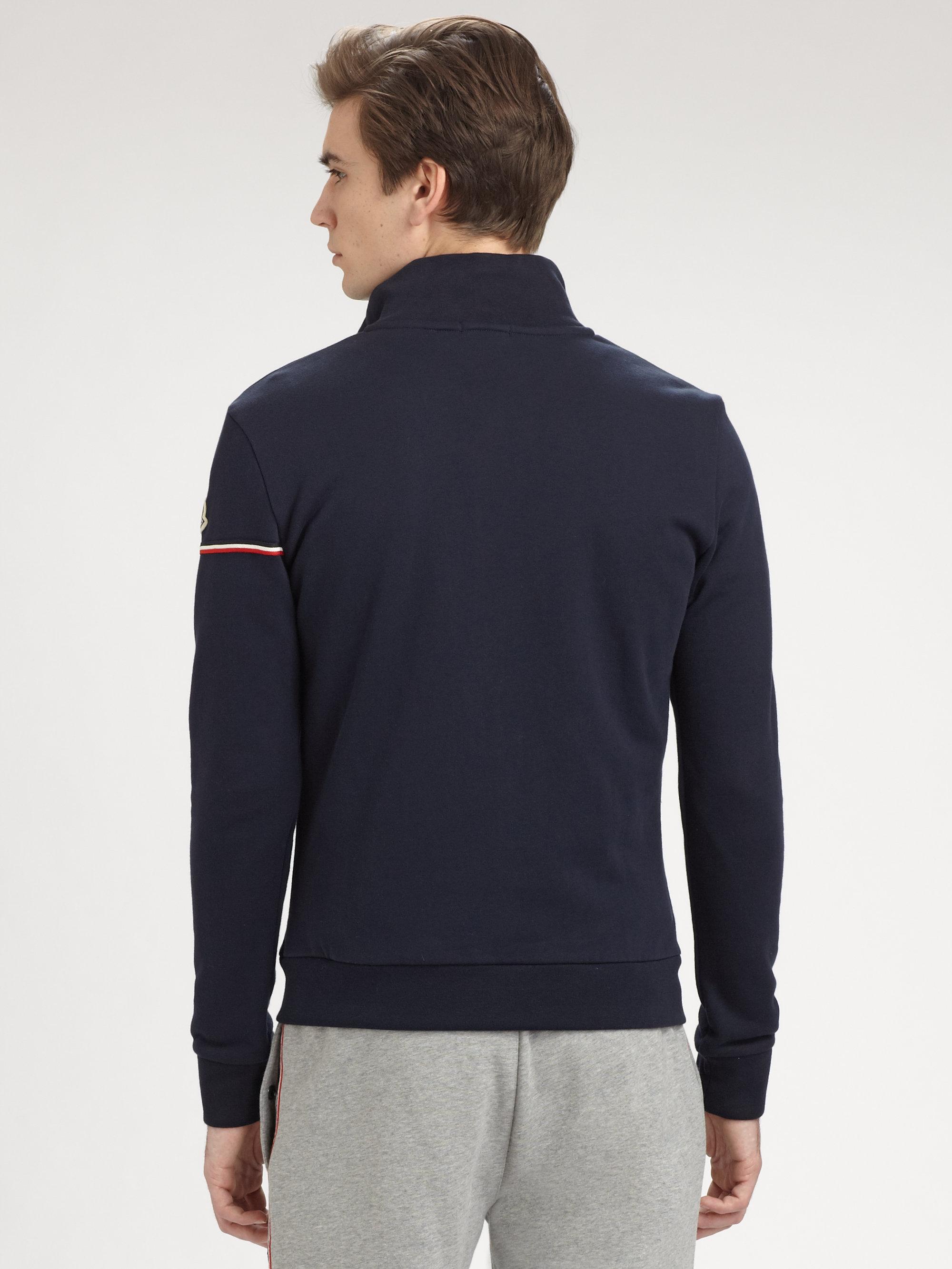 moncler zip cardigan