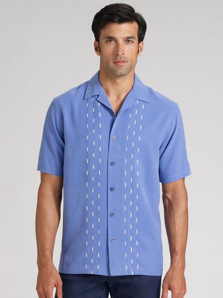 Mens Silk Polo Shirts