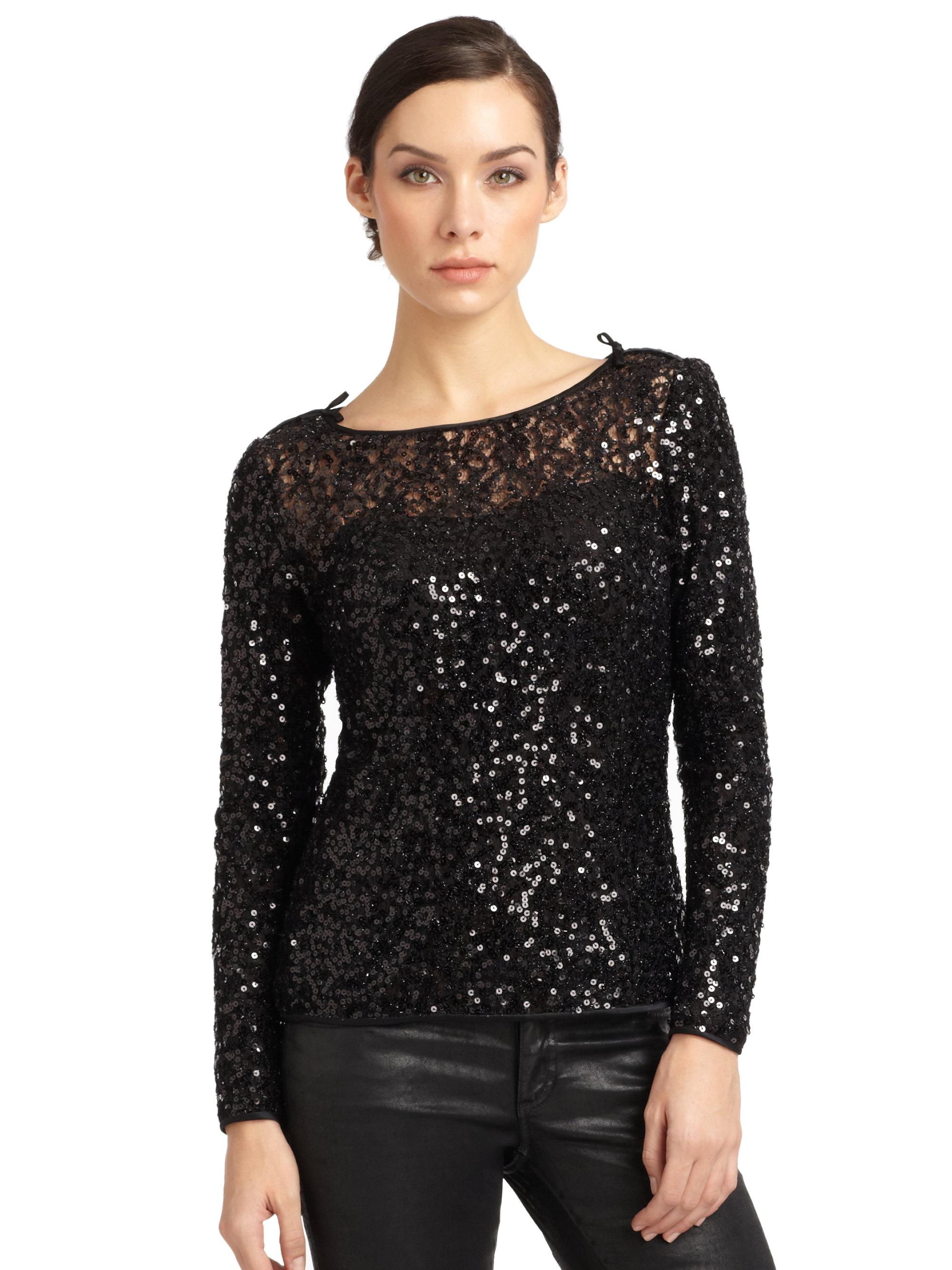 Find great deals on eBay for long sleeve silver sequin top. Shop with confidence.