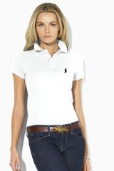 Ralph Lauren Blue Label Skinny-Fit Polo - Lyst