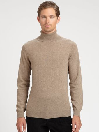 Saks Fifth Avenue Men's Collection Cashmere Turtleneck - Lyst
