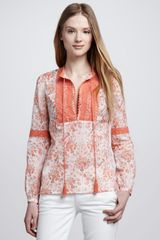 Tory Burch Gracelynn Blouse - Lyst