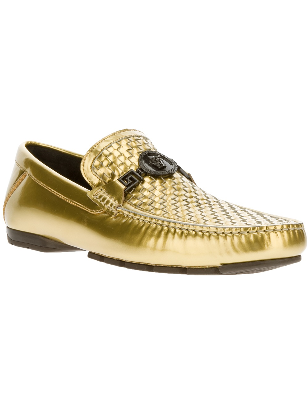 Versace Woven C... White Gucci Shoes For Men