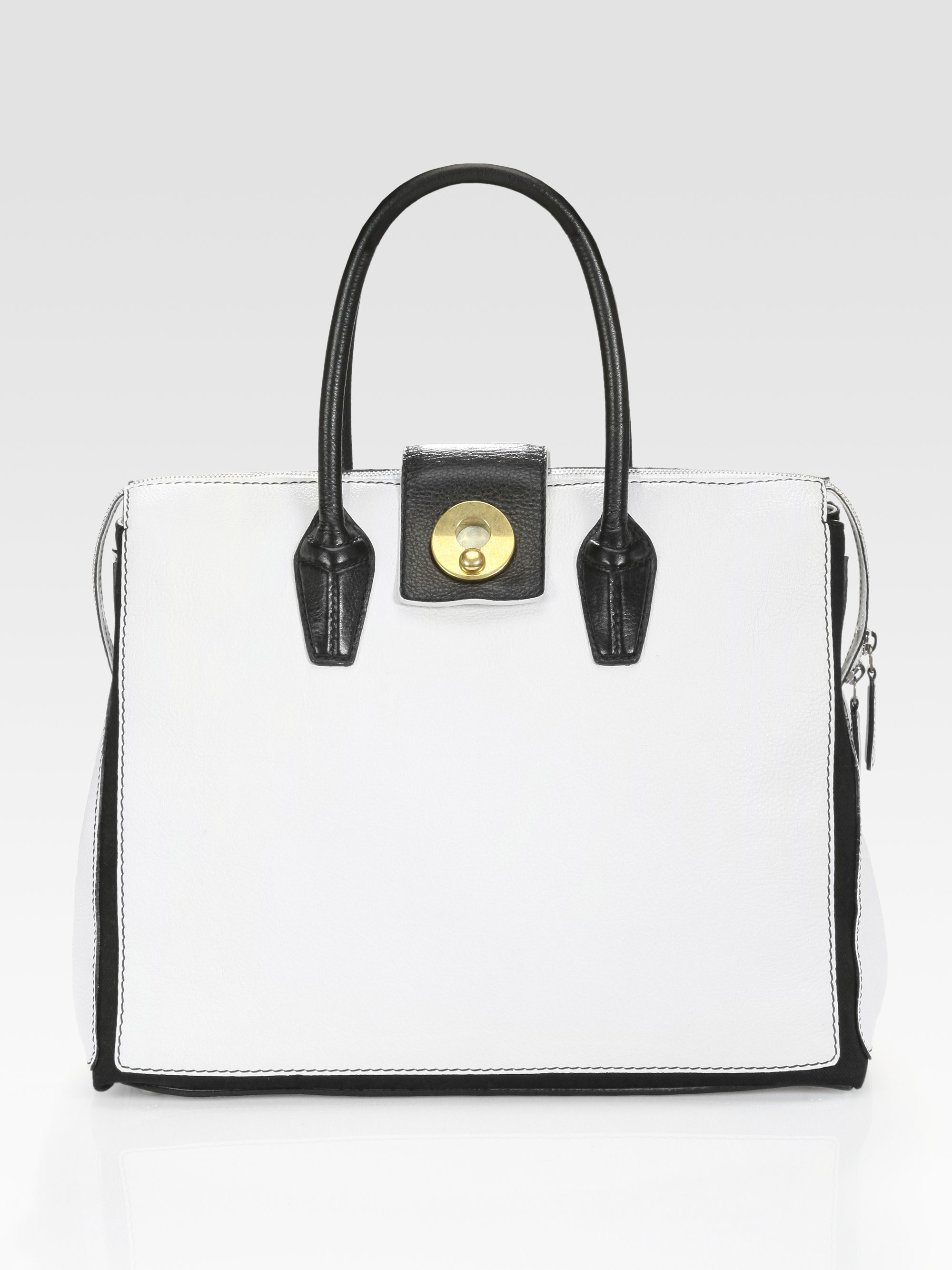 ysl new muse two shopping bag