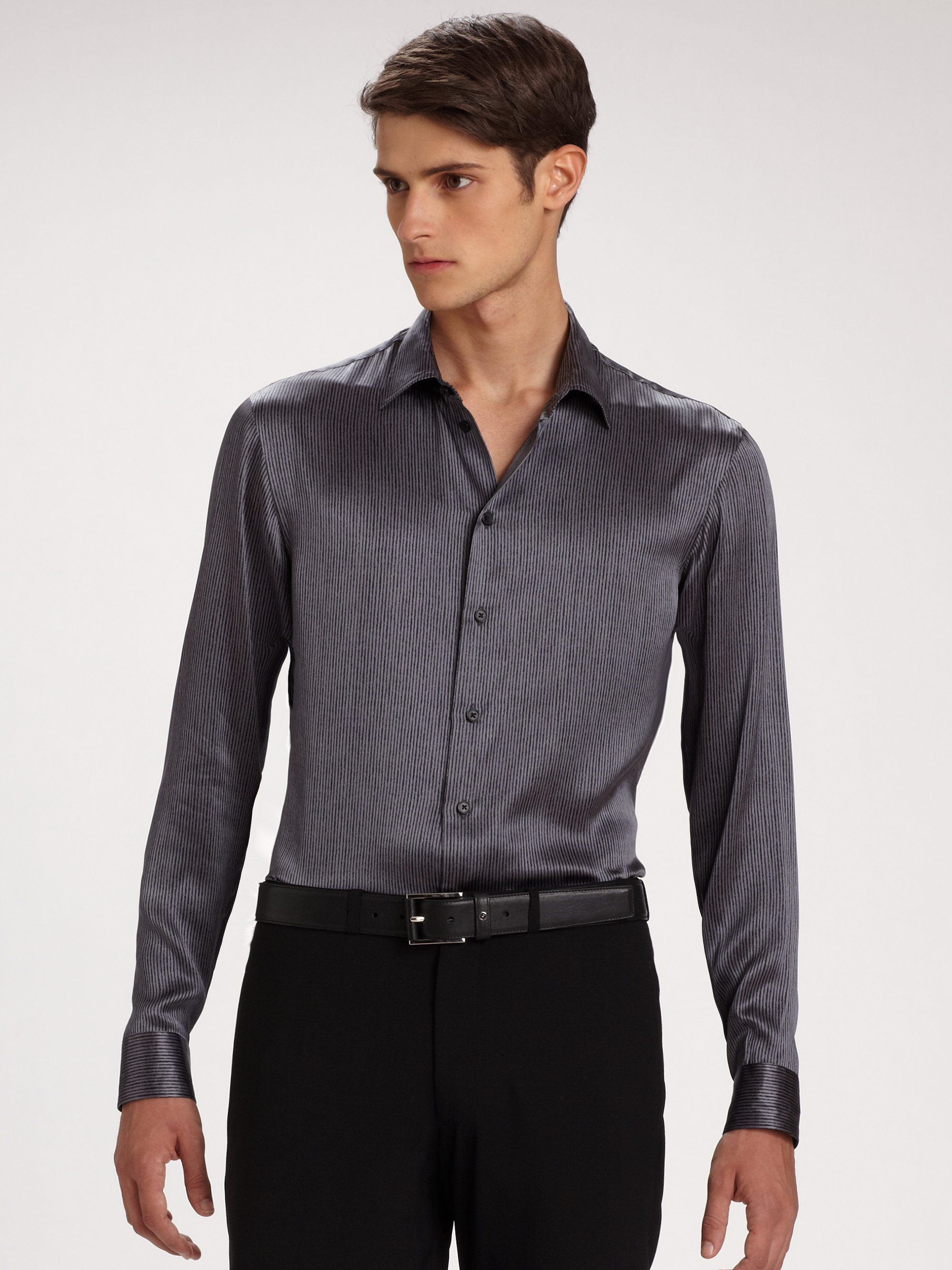 Mens Chambray Work Shirt