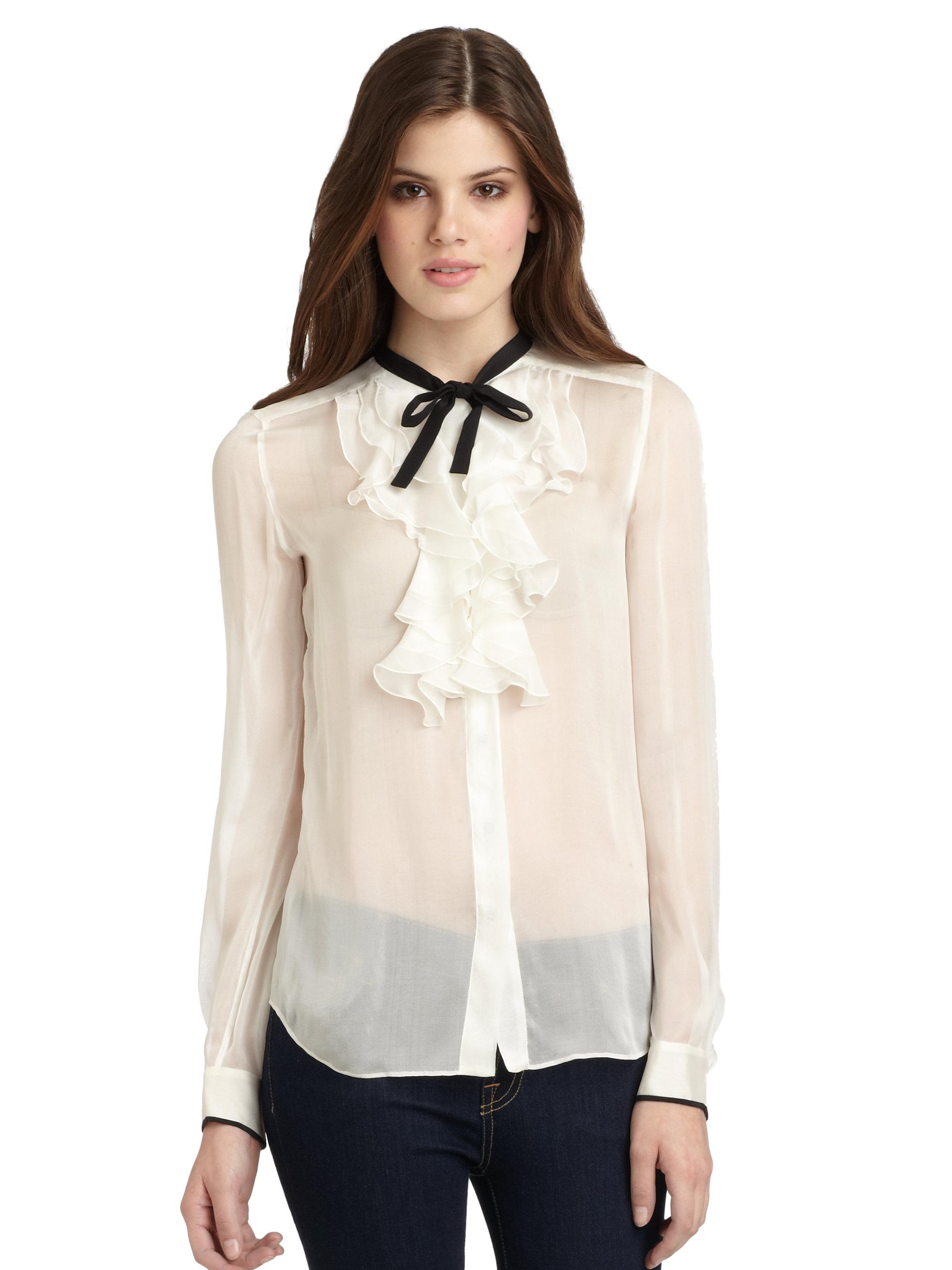 Sleeveless Tie Front Blouse