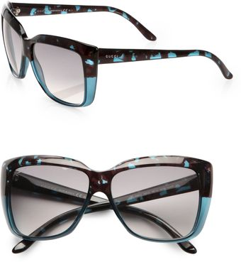 Gucci Cats' Eye Sunglasses - Lyst