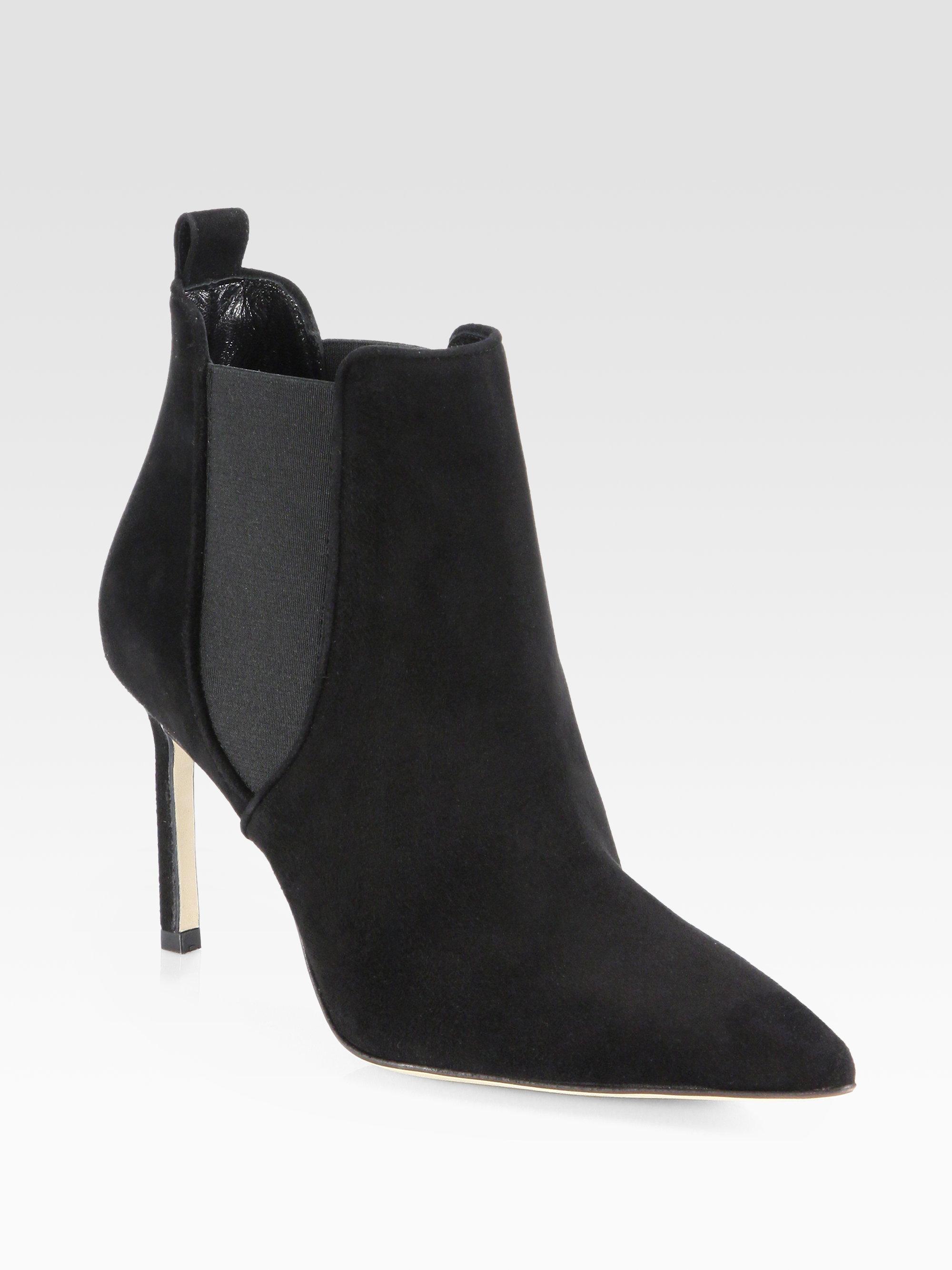 manolo blahnik black high heels