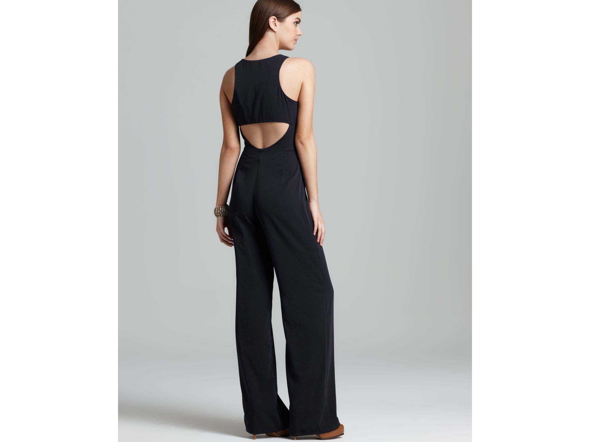 462830a4e87 Lyst - Theory Jumpsuit Lindla P Madera in Blue