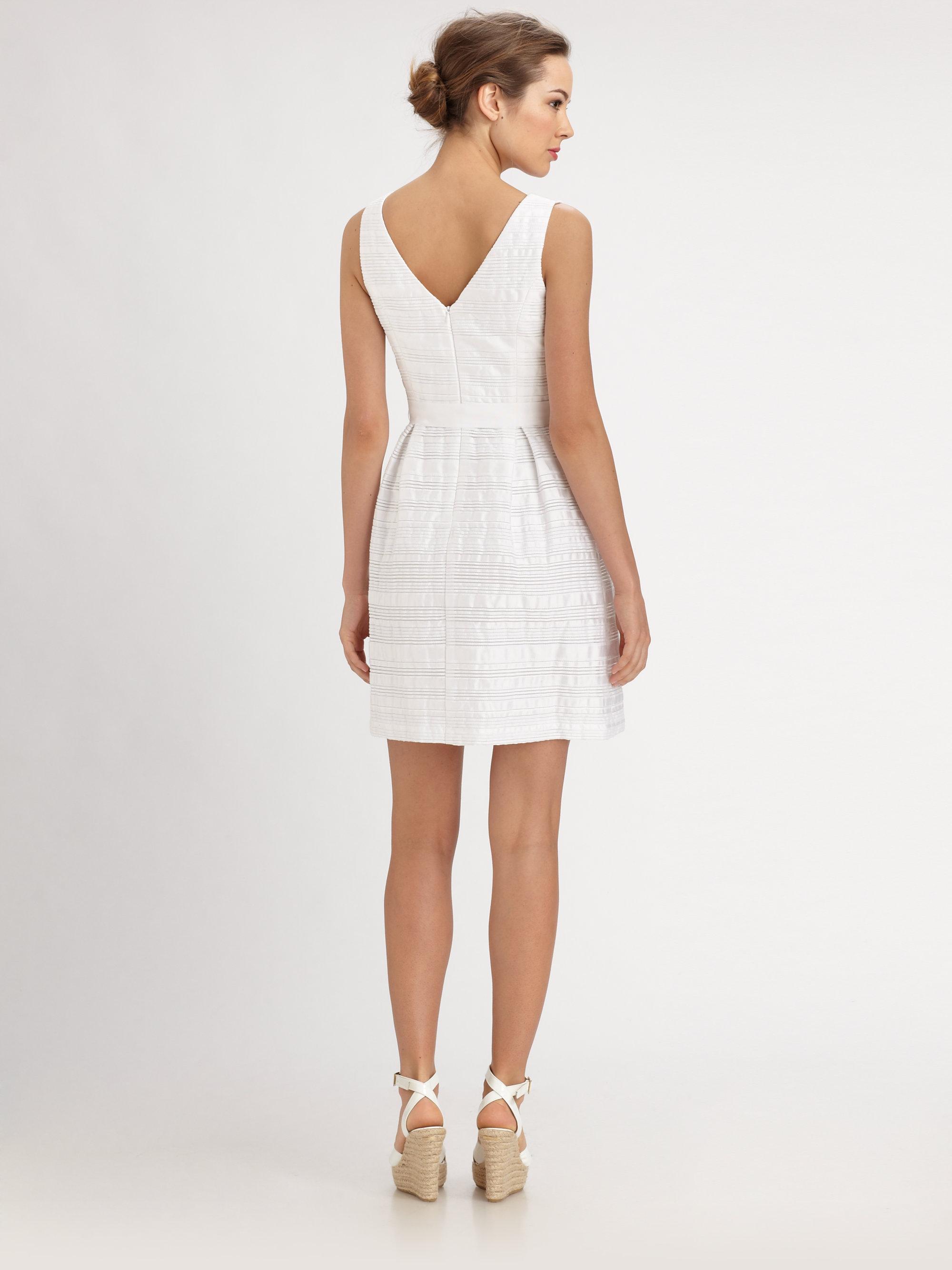 Trina turk Fru Fru Dress in White  Lyst