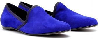 Acne Khol Suede Slipperstyle Loafers - Lyst