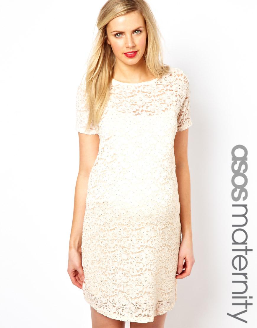 22d0a68e1c6 Maternity Dresses White Lace – DACC