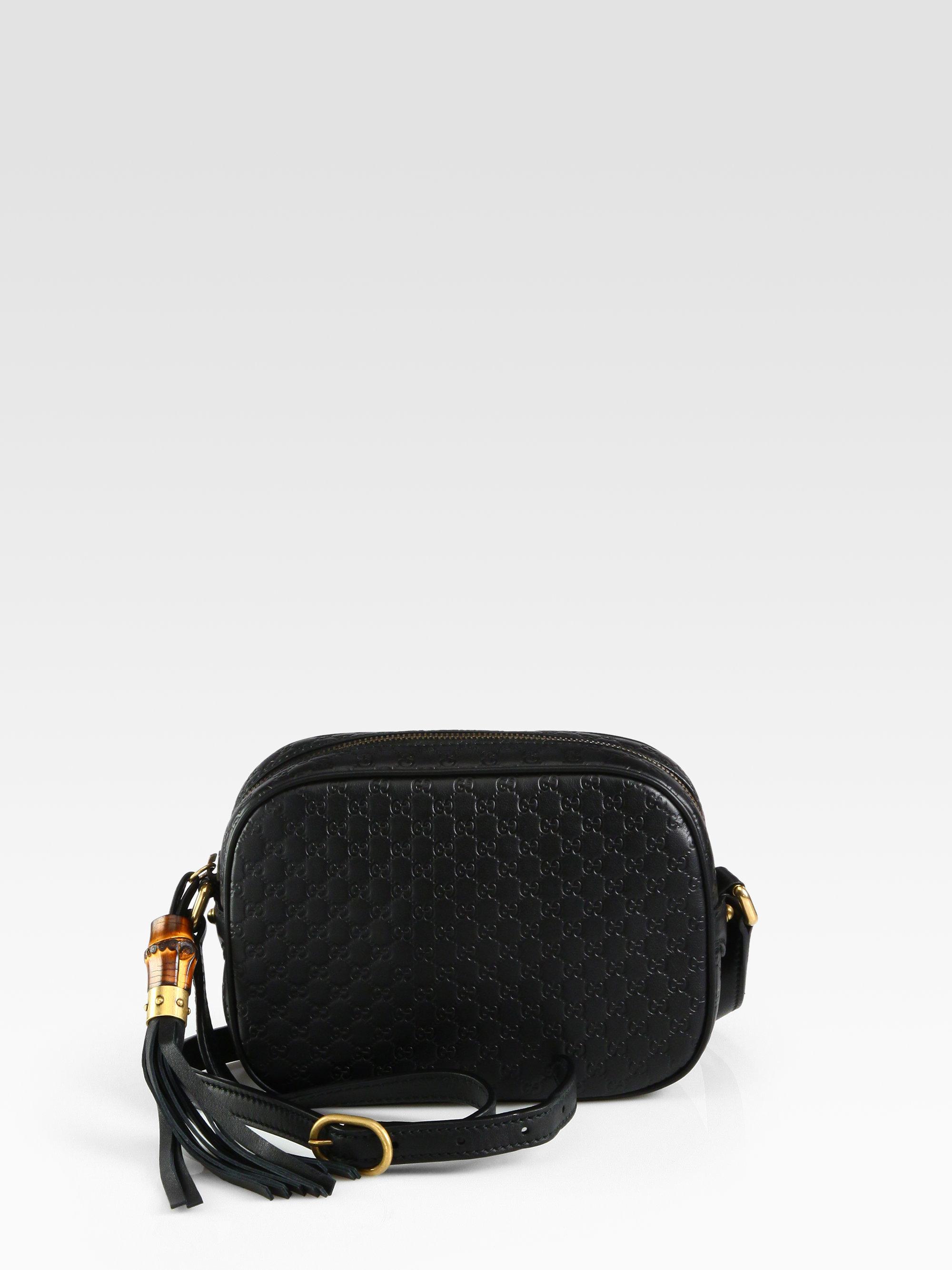 ab6205548a3 Lyst - Gucci Sunshine Microguccissima Disco Bag in Black