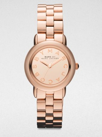 Marc By Marc Jacobs Rose Goldtone Stainless Steel Watch - Lyst