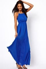 ASOS Collection Maxi Dress with Keyhole Detail - Lyst