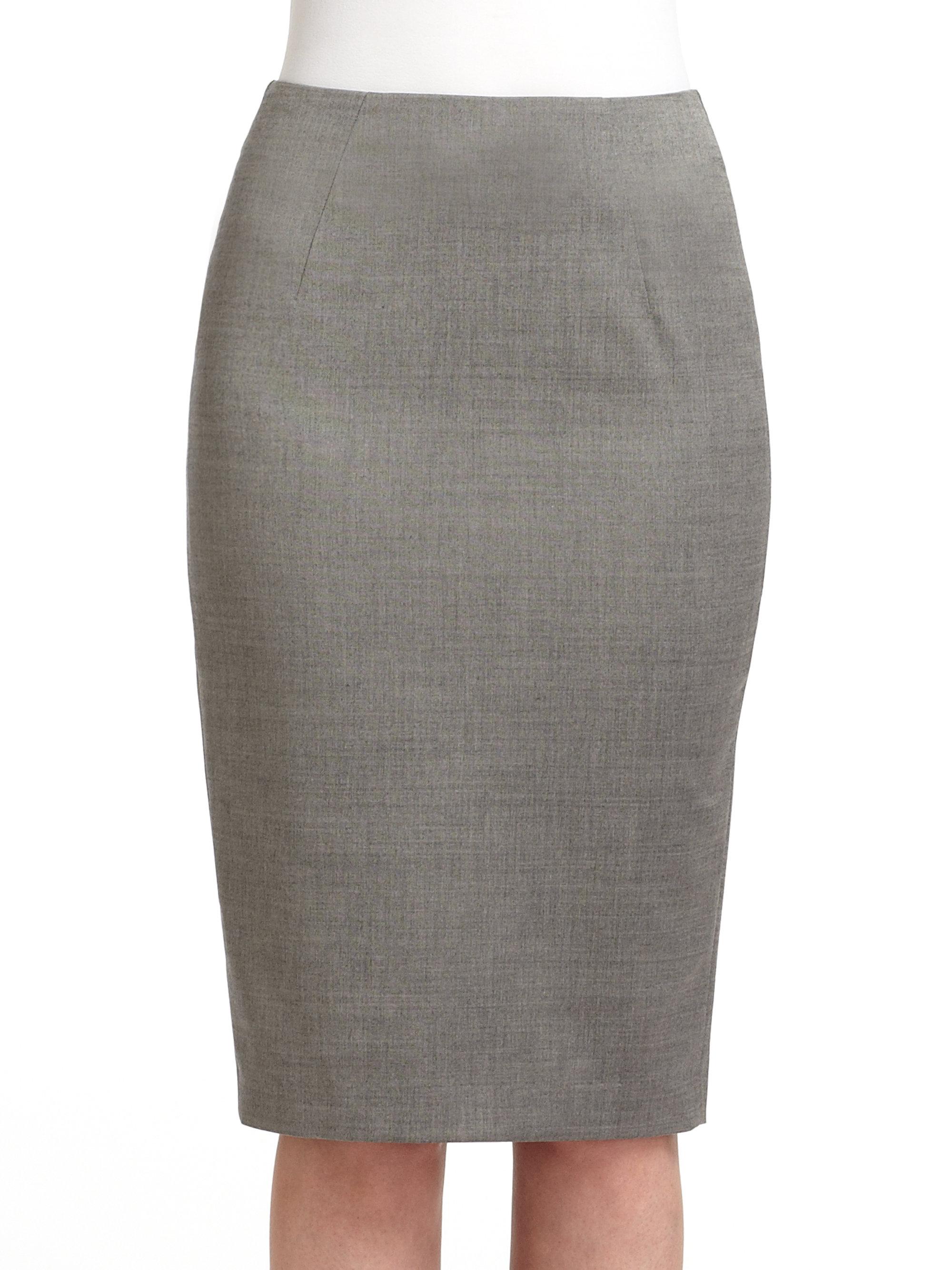Pencil Skirt Grey 97