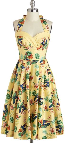 ModCloth Catamaran Candescence Dress - Lyst