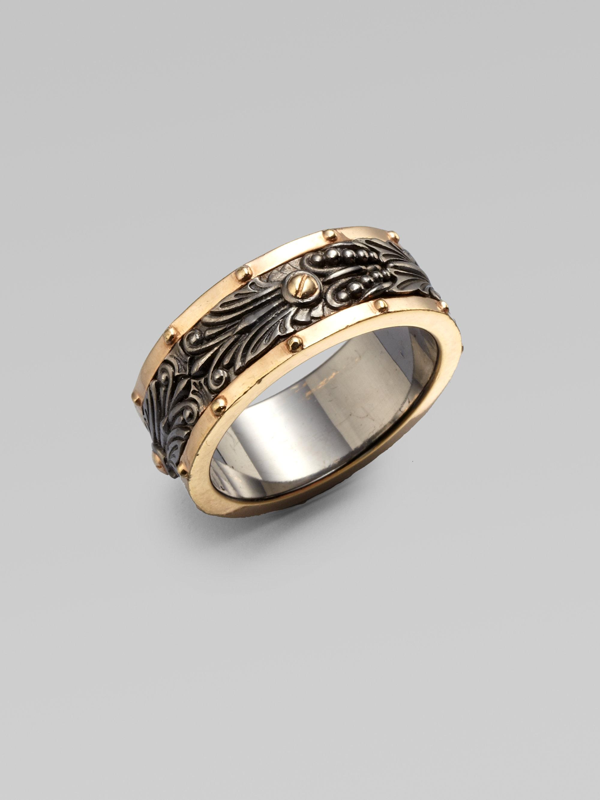 Stephen webster Wide Spinner Ring in Metallic for Men