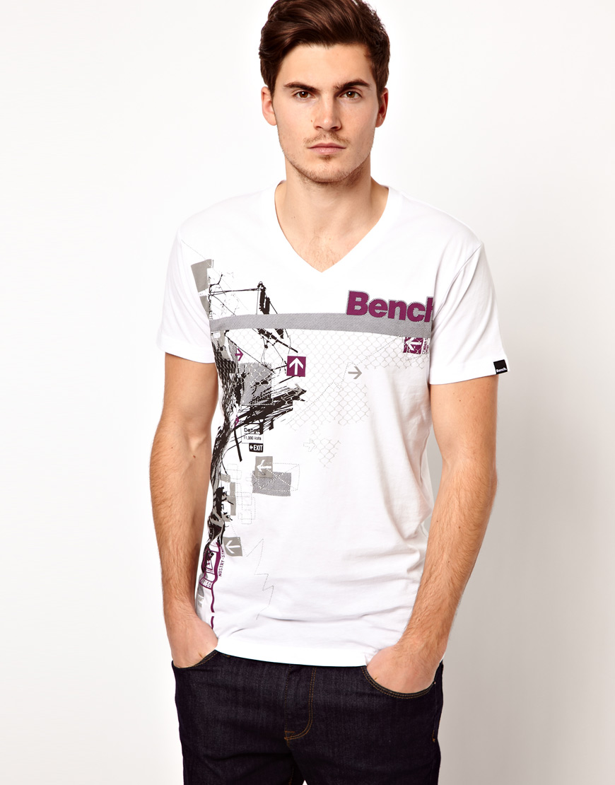 Mens Graphic Tee Shirt T-Shirt Bench Excellent Cheap Online Free Shipping 2018 bIq6VQZs1