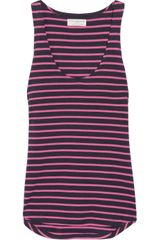 Chinti And Parker Striped Organic Cotton Vest - Lyst