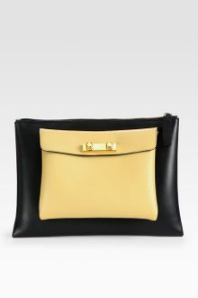 Marni Colorblock Envelope Clutch - Lyst