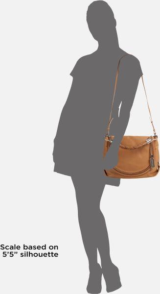 Michael Kors Skorpios Flap Shoulder Bag Walnut 49