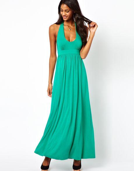 Plunging Halter Dress Plunge Halter Maxi Dress