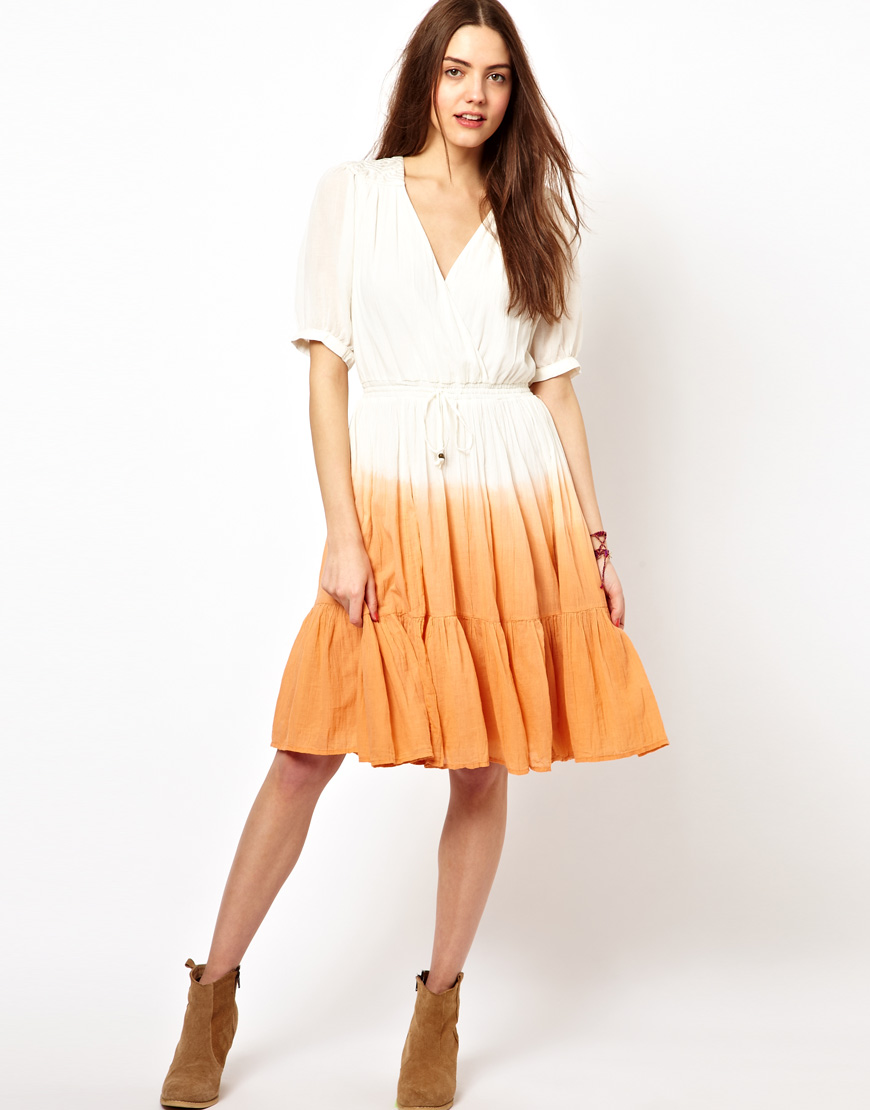 Lyst French Connection Southern Summer Dress In White